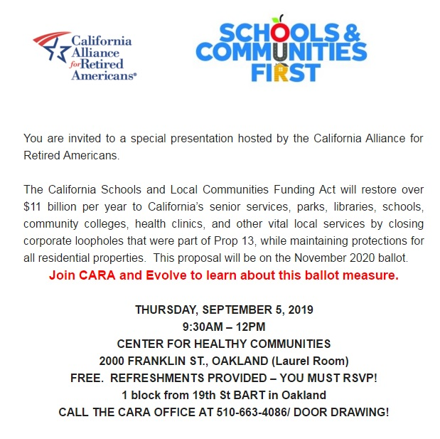 CA Schools and Local Communities Funding Act Info Session